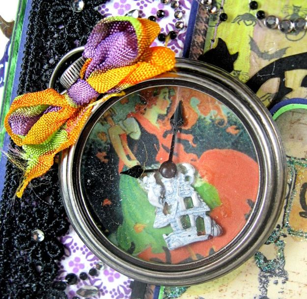 Crafty Secrets Purple and Green Halloween Album06