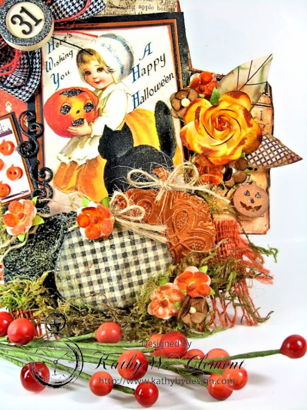 Kathy by Design Halloween Magnet 04