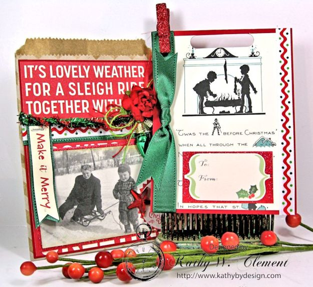 Christmas Gift Card Tags in Bags 06
