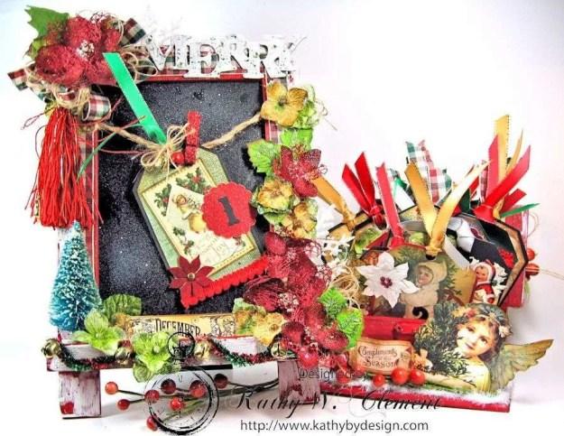 Kathy by Design December Countdown Chalkboard for Crafty Secrets 01