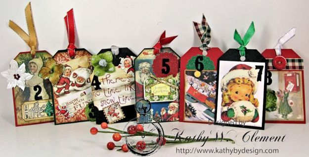 Kathy by Design December Countdown Chalkboard for Crafty Secrets 08