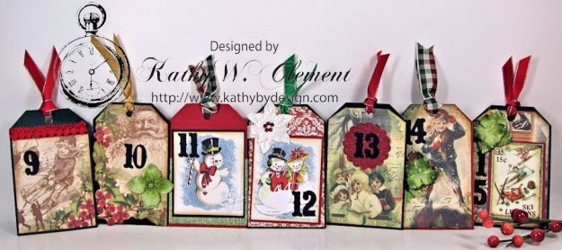 Kathy by Design December Countdown Chalkboard for Crafty Secrets09
