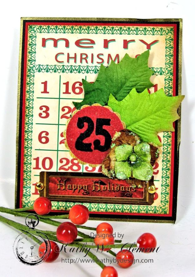 Kathy by Design December Countdown Chalkboard for Crafty Secrets12