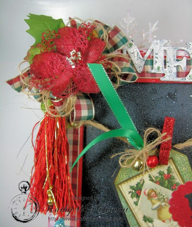 Kathy by Design December Countdown Chalkboard for Crafty Secrets15