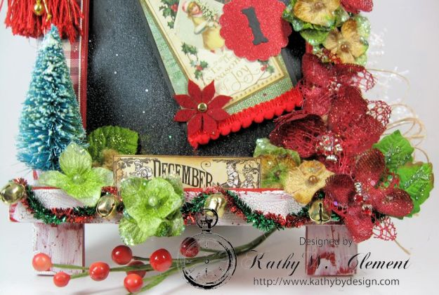 Kathy by Design December Countdown Chalkboard for Crafty Secrets16
