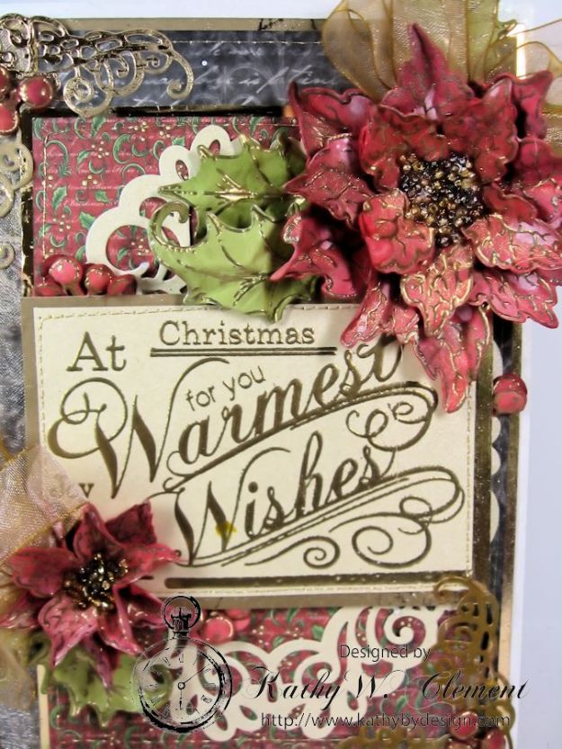Kathy by Design Warm Wishes Christmas Card for Heartfelt Creations 02