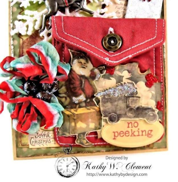Kathy by Design/Santa's Journey Pocket Card