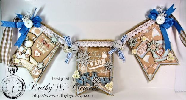 Kathy by Design/Authentique Cozy Winter Banner for Gypsy Soul Laser Cuts 01