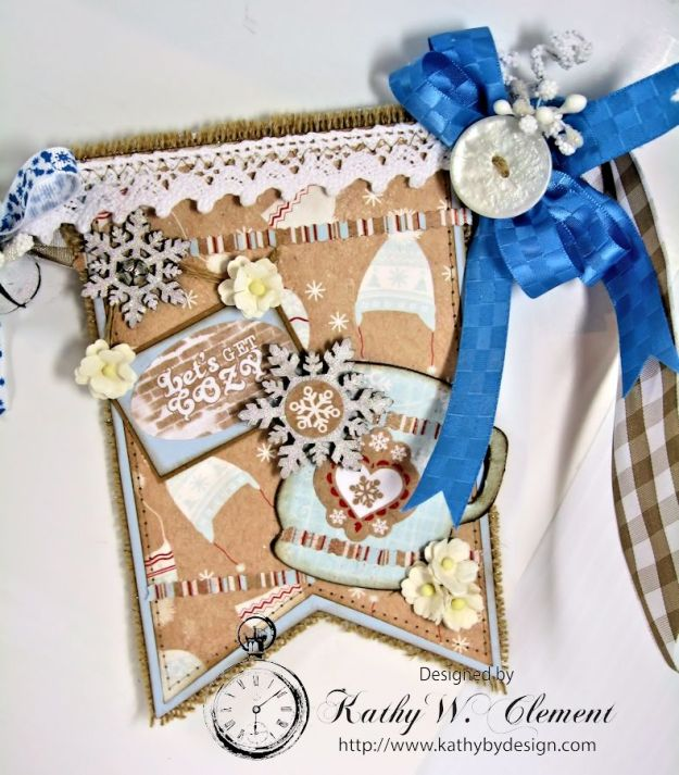 Authentique Cozy Winter Banner for Gypsy Soul Laser Cuts 05