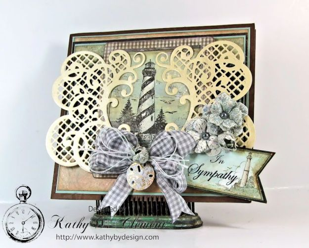 Kathy by Design/Balmy Breeze Sympathy Card 01