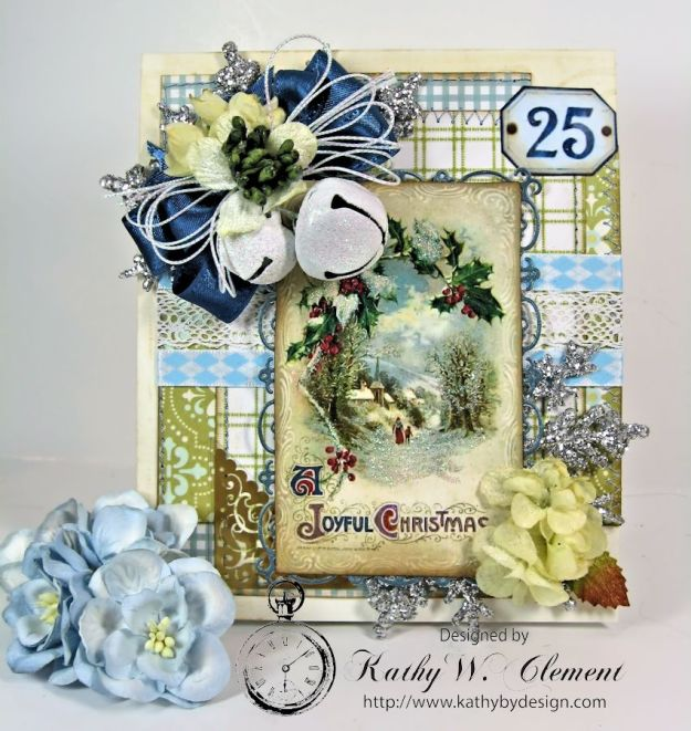 Kathy by Design/Blue, Blue Christmas