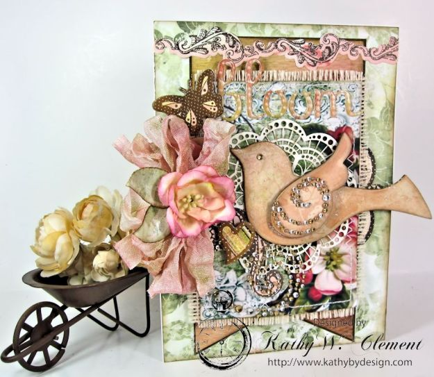 Shabby Chic Bloom Card for RRR 01