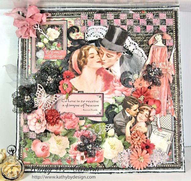 Love is in the air challenge Frilly Funkie 01