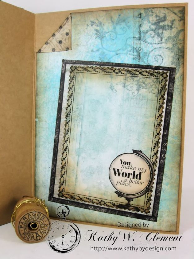 You Make my World a Better Place Card Tutorial 06