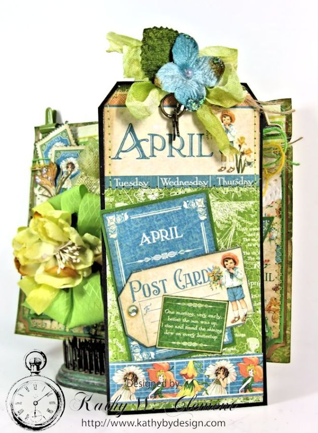 April Showers Pocket for RRR Welcome Spring 08