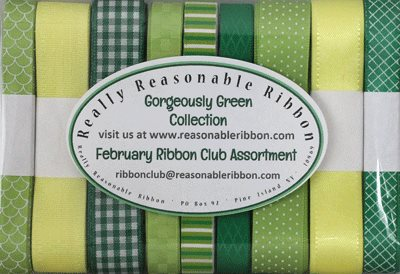 Gorgeously Green Ribbon Club Assortment