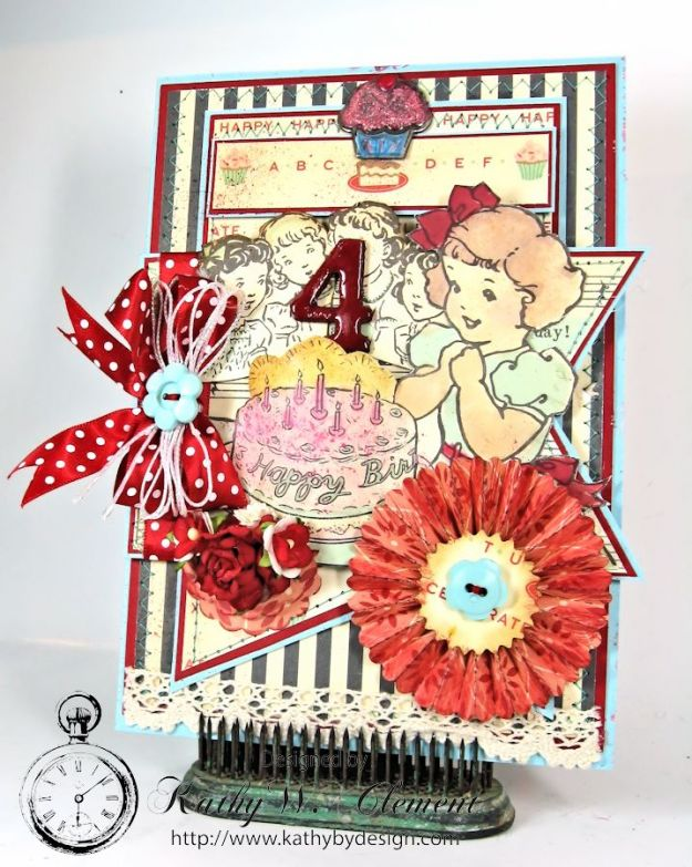 Cakewalk Happy Birthday Card for RRR