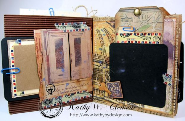 Wanderlust Junque Journal Kathy by Design 07