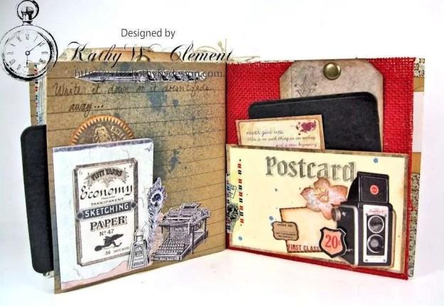 Wanderlust Junque Journal Kathy by Design 12