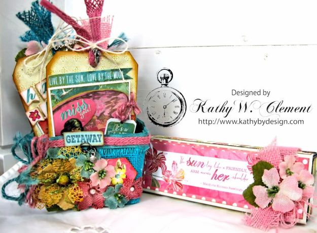 Mothers Day Beach Gift Basket
