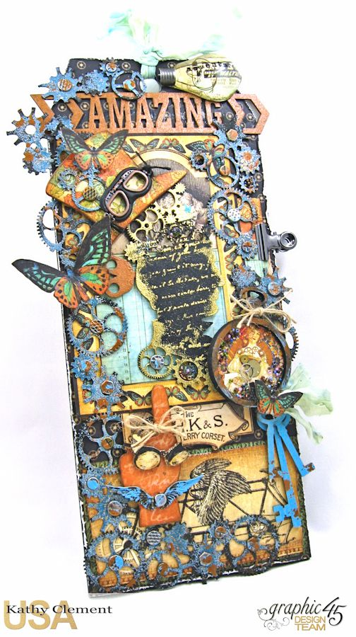 Steampunk Debutante Tag Folio by Kathy Clement for Gypsy Soul Lasercuts Product Graphic 45 Steampunk Debutante 01