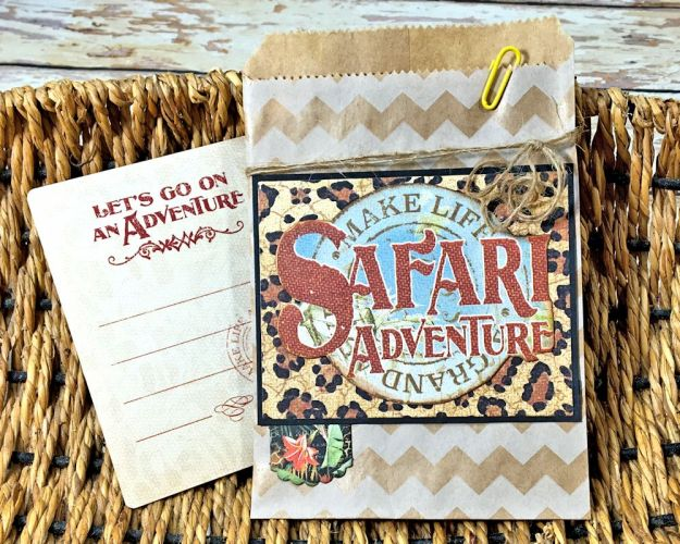Zoo Party Ensemble, Safari Adventure by Kathy Clement, Product by Graphic 45 Photo 18