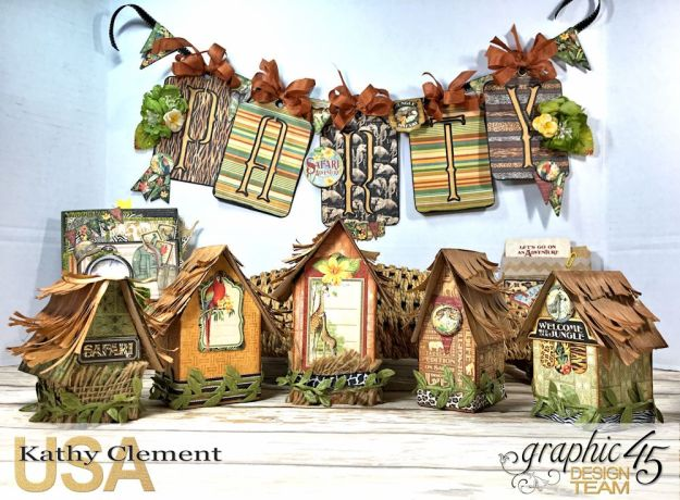Zoo Party Ensemble, Safari Adventure by Kathy Clement, Product by Graphic 45 Photo 6
