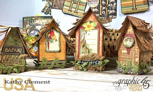 Zoo Party Ensemble, Safari Adventure by Kathy Clement, Product by Graphic 45 Photo 7