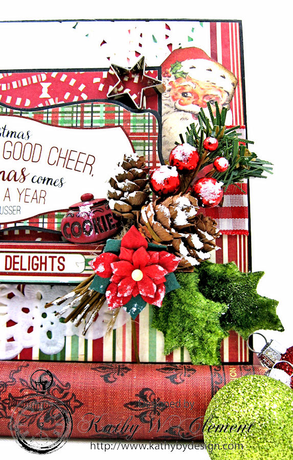 Cookies for Santa Retro Recipe Folio by Kathy Clement
