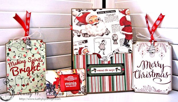 Hot Chocolate for Santa and Rudolph Card by Kathy Clement