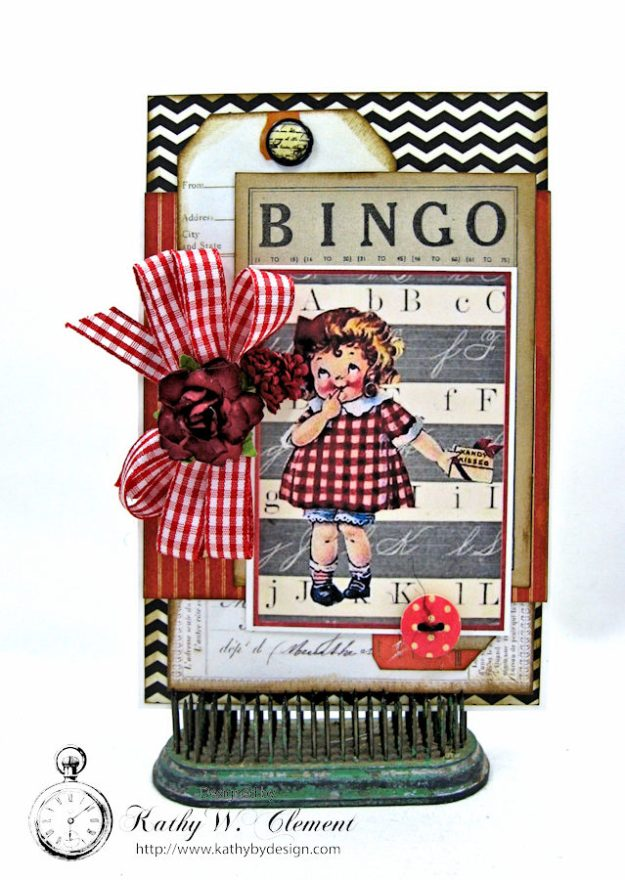 Schoolhouse Vintage Valentine Cards and Tags by Kathy Clement Photo 1