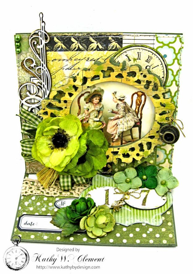 St. Patrick's Day Easel Card by Kathy Clement for Petaloo International Photo 3