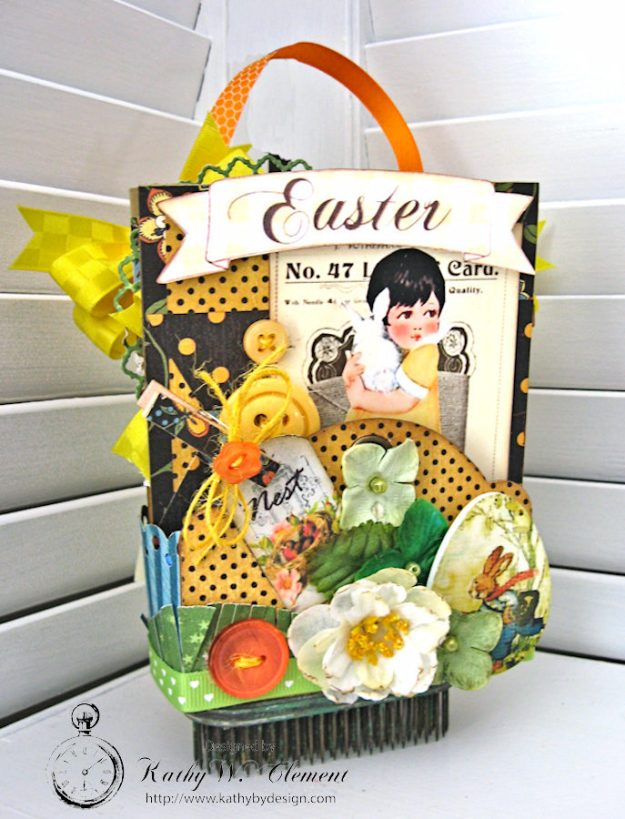Super Sweet Easter Treat Basket by Kathy Clement for Really Reasonable Ribbon Photo 1