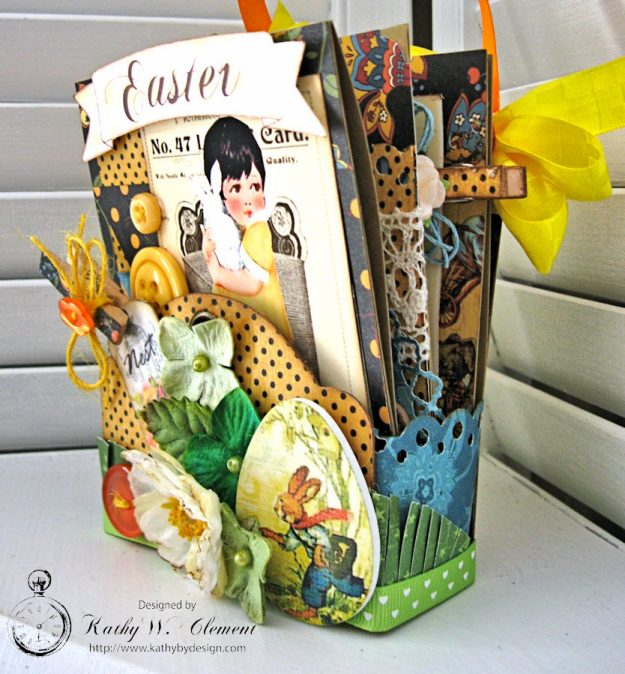 Super Sweet Easter Treat Basket by Kathy Clement for Really Reasonable Ribbon Photo 2