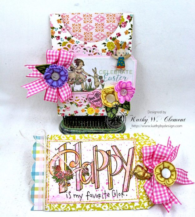 Happy Little Easter Tag Pockets by Kathy Clement for Tammy Tutterow Designs Photo 3