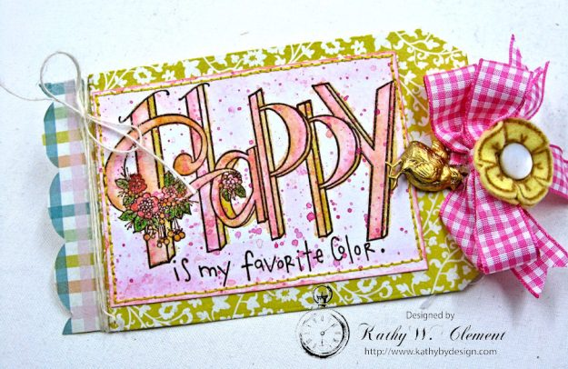 Happy Little Easter Tag Pockets by Kathy Clement for Tammy Tutterow Designs Photo 4