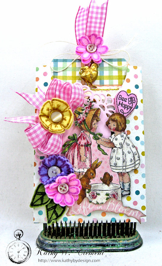 Happy Little EasterTag Pockets by Kathy Clement for Tammy Tutterow Designs Photo 5