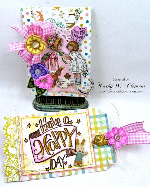 Happy Little Easter Tag Pockets by Kathy Clement for Tammy Tutterow Designs Photo 6