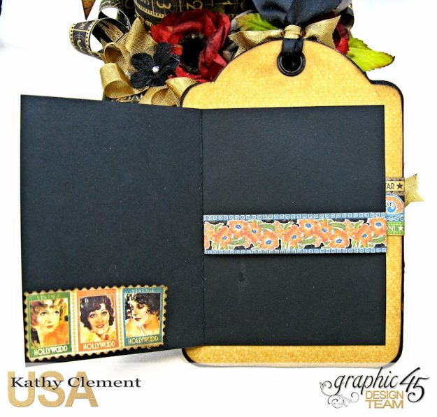 Born to Be a Star Photo Display Box Vintage Hollywood by Kathy Clement Product by Graphic 45 Photo 12