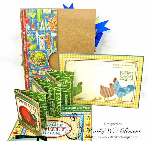 Laundry Day Card Home Sweet Home by Kathy Clement for Really Reasonable Ribbon Product by Graphic 45 Photo 7