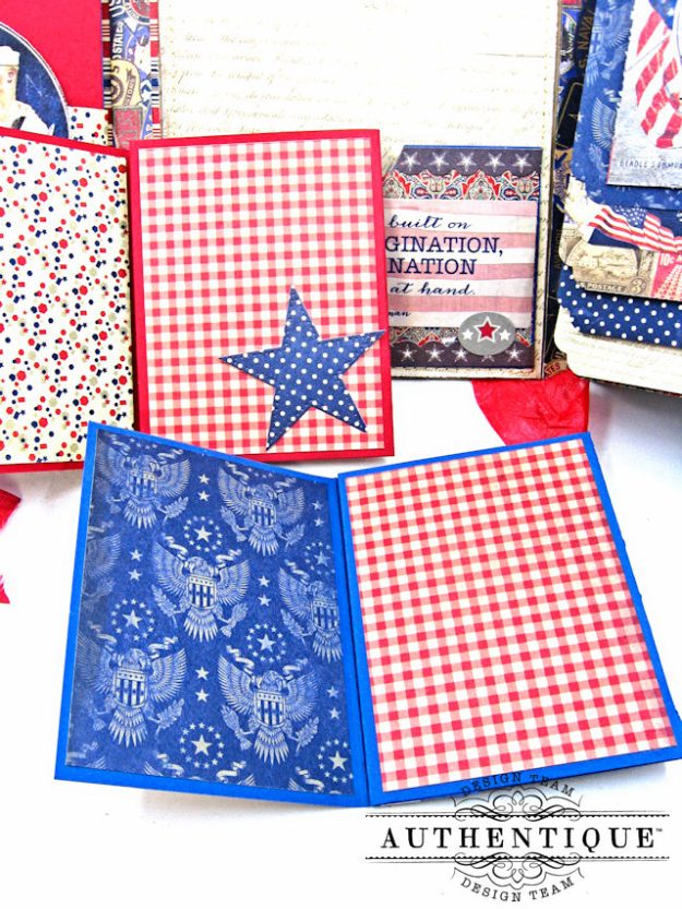 Authentique Heroic Patriotic Folio Heroic by Kathy Clement Product by Authentique Photo 10