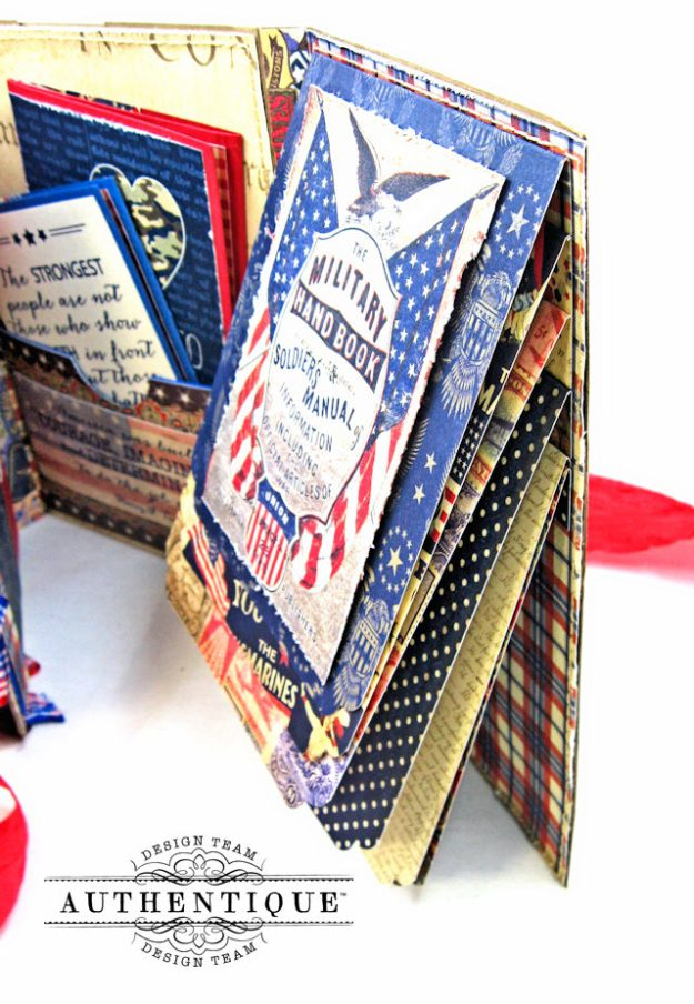 Authentique Heroic Patriotic Folio Heroic by Kathy Clement Product by Authentique Photo 14