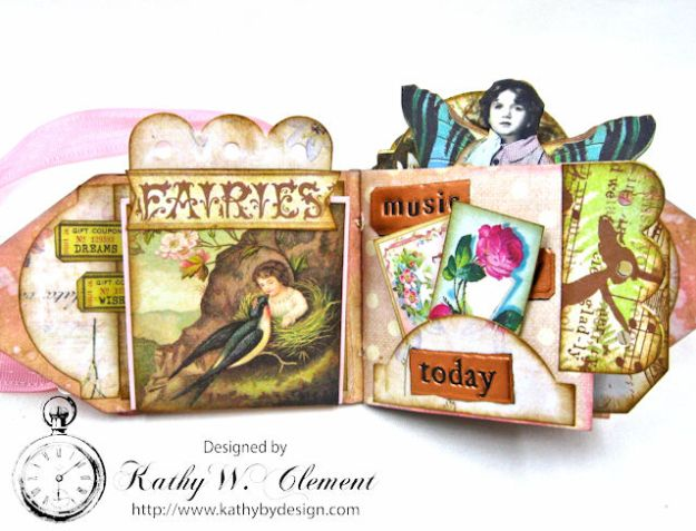 Fairy Happy Birthday Wishes Gift Card Wallet by Kathy Clement Photo 7
