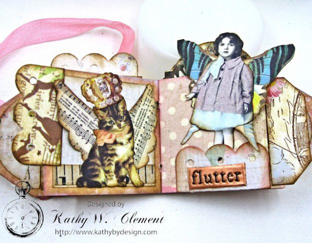 Fairy Happy Birthday Wishes Gift Card Wallet by Kathy Clement Photo 10