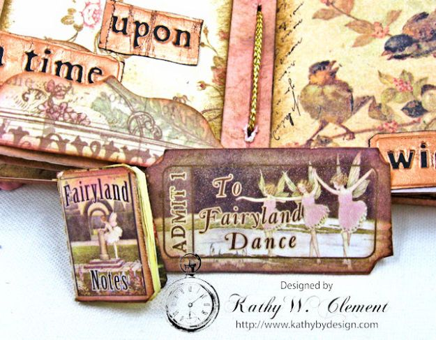 Fairy Happy Birthday Wishes Gift Card Wallet by Kathy Clement Photo 12