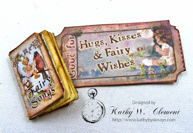 Fairy Happy Birthday Wishes Gift Card Wallet by Kathy Clement Photo 13