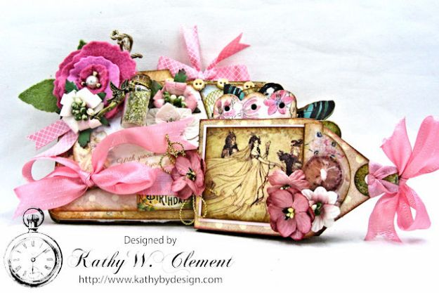 Fairy Happy Birthday Wishes Gift Card Wallet by Kathy Clement Photo 6
