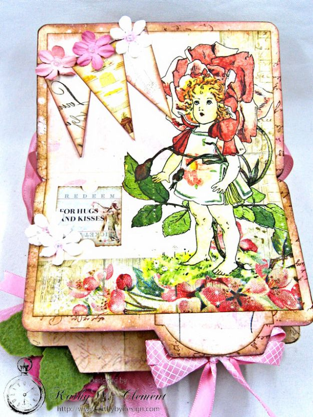 Fairy Happy Birthday Wishes Gift Card Wallet by Kathy Clement Photo 15