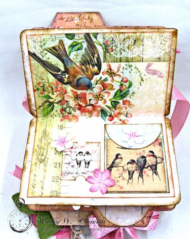 Fairy Happy Birthday Wishes Gift Card Wallet by Kathy Clement Photo 16