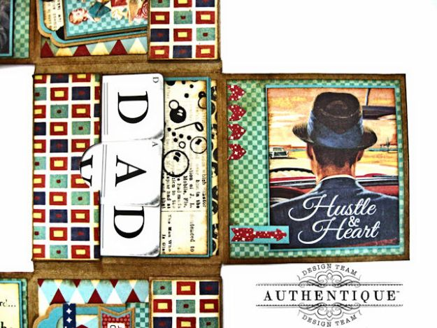 Dear Old Dad Father's Day Gift Wallet with Authentique Dapper Collection by Kathy Clement Photo 5
